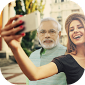 Selfie with Narendra Modi