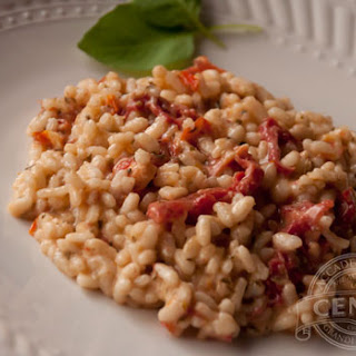 Sun Dried Tomato & Pesto Risotto