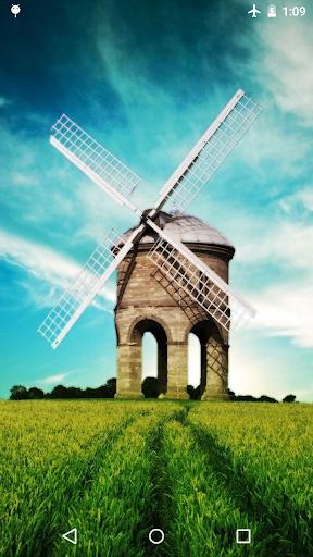 Windmill Live Wallpaper 4K