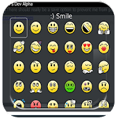 Text smileys for bbm