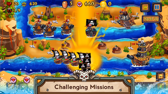 Tower Defense Pirates TD - náhled
