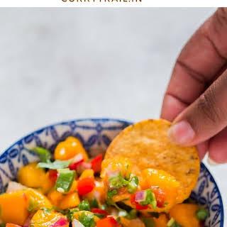 Easy and Fresh Summer Mango Salsa.