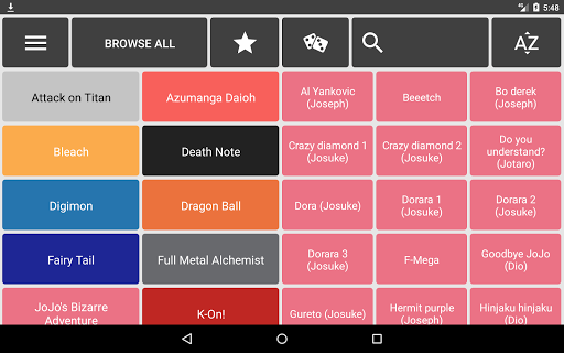 Animesound (Anime Soundboard) app (apk) free download for Android/PC