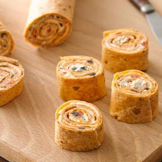 Veggie Tortilla Roll-Ups.