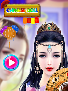 Chinese Dressup & Makeup salon - Royal Princess Screenshot