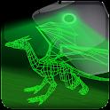 Dragon de laser holographique icon