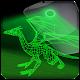 Dragon de laser holographique