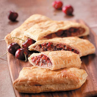 Easy Cherry Strudels