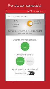 Tennis Modena - náhled
