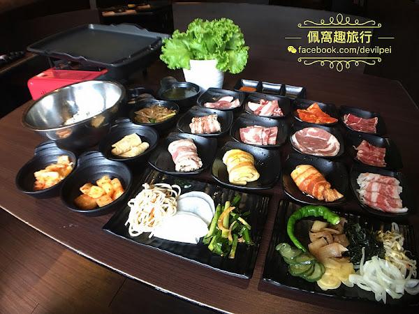 糕糕在尚韓式烤肉吃到飽 韓國歐巴帶來正統的家鄉味