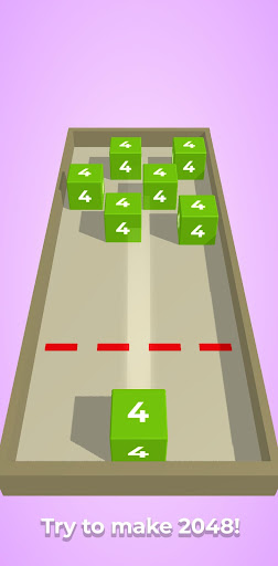 Chain Cube: 2048 3D merge game filehippodl screenshot 6