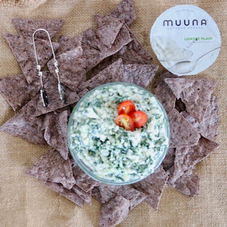 Cottage Cheese Spinach Dip.
