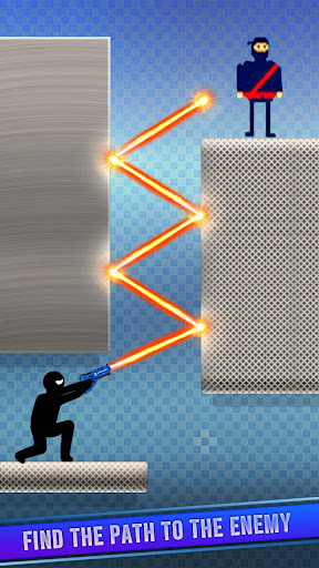 Télécharger Mr Spy Stickman Bullet Shooter Free Offline Games apk mod screenshots 2