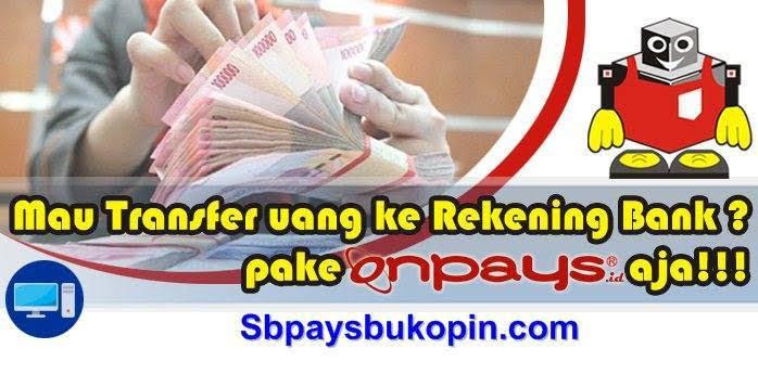 Transfer uang ke rekening bank