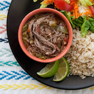 Cuban Shredded Beef Stew.