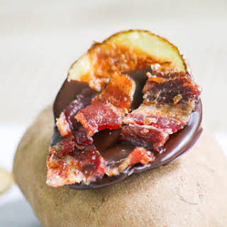 Chocolate Bacon Potato Chips #FWCon.