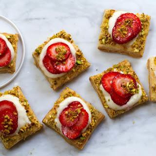 Strawberry Cardamom Mascarpone Tartlets