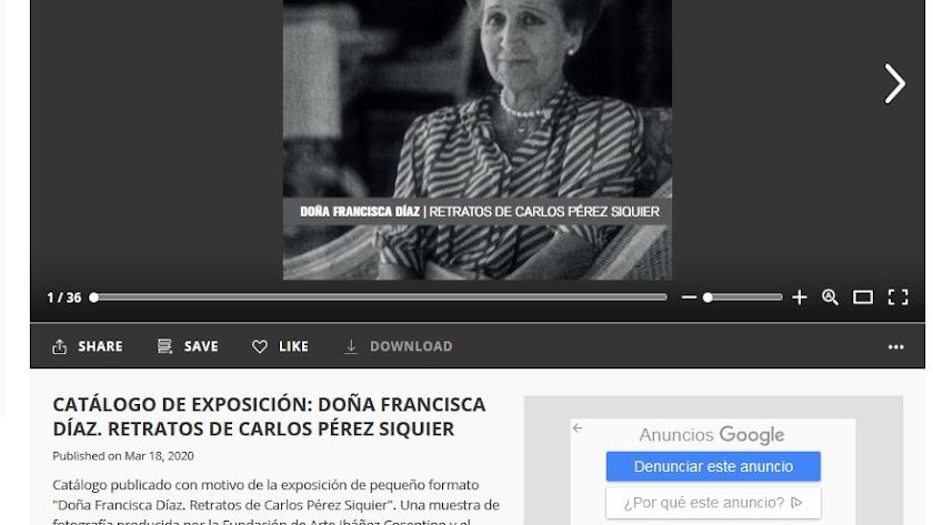El catálogo del Museo Doña Pakyta se puede consultar a través de Issuu.