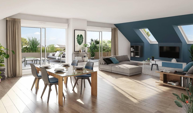 Appartement avec terrasse Sautron