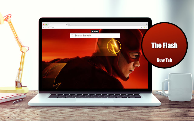 *NEW* HD The Flash Wallpapers New Tab Theme