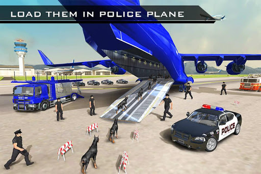 US Police Robot Dog - Police Plane Transporter 1.1 screenshots 3