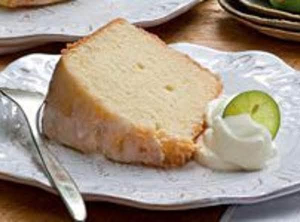 Key Lime Pound Cake Recipe