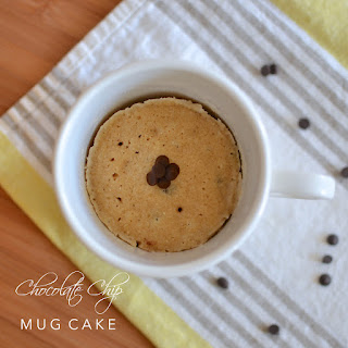 Chocolate Chip Mug Cake Recipe