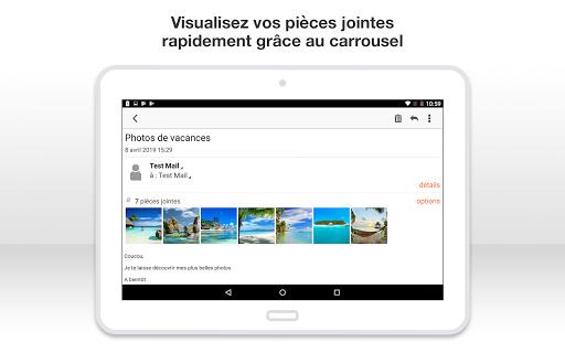 Mail Orange, 1er mail français screenshot 15