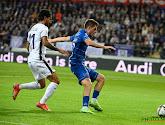 Anderlecht begint de wedstrijd met een geste aan AA Gent