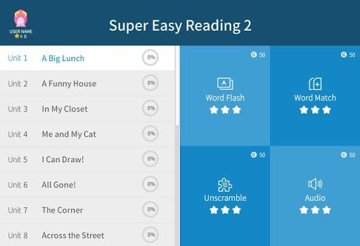 Super Easy Reading 2 2.0.1 screenshots 5