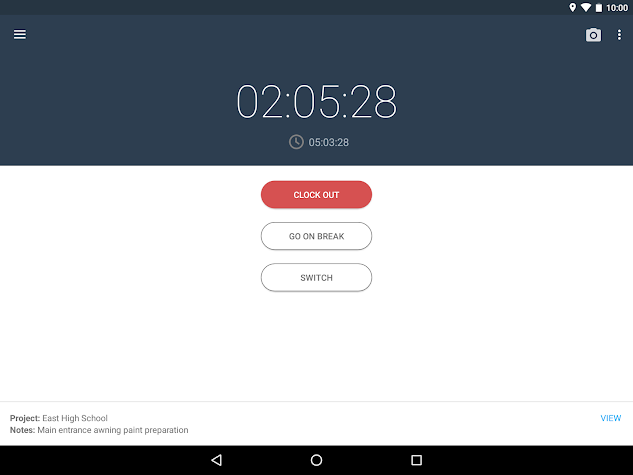 busybusy™ Time Tracker for Construction Crews Screenshot