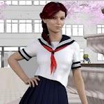High School Gandere Girl Sim 2 Icon
