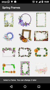 Spring photo Frames screenshot 1