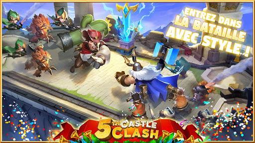 Castle Clash: RPG War and Strategy FR  {cheat|hack|gameplay|apk mod|resources generator} 4