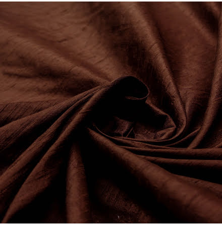 Dupion - brun