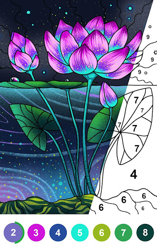 Paint By Number - Free Coloring Book & Puzzle Game - screenshot