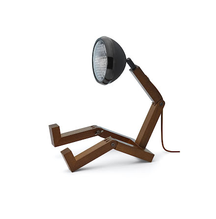 Mr Wattson Bordslampa Matt Svart