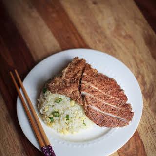 Pork Chop Fried Rice, Din Tai Fung Copycat.