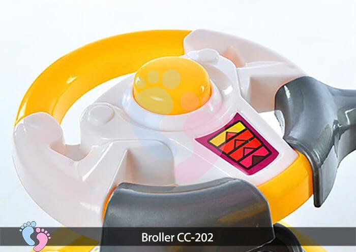Xe chòi chân trẻ em Broller CC 202 12