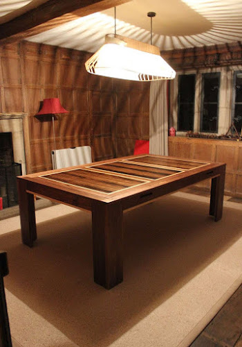 Spartan Dining Table in a loft