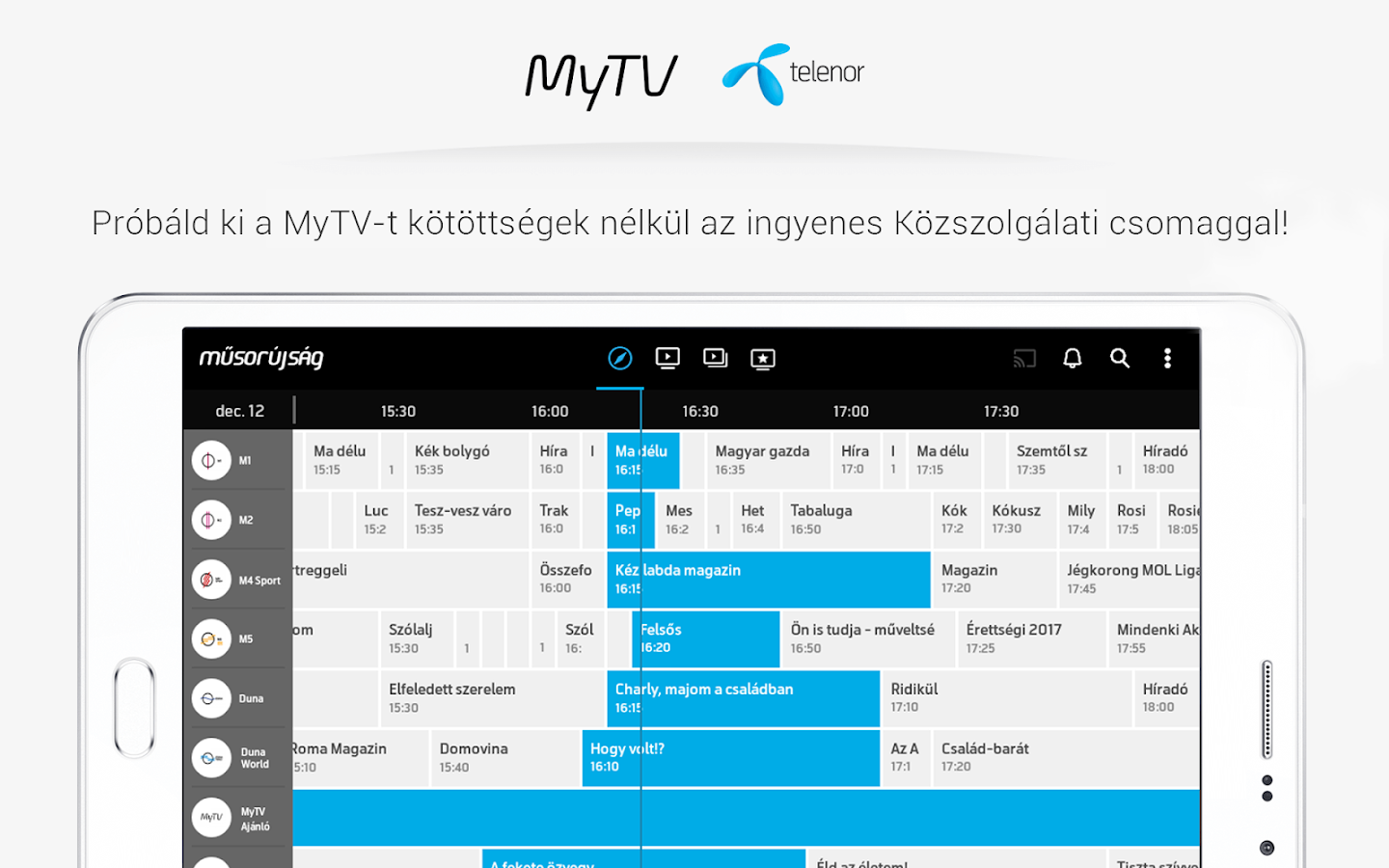 MyTV Telenor- screenshot
