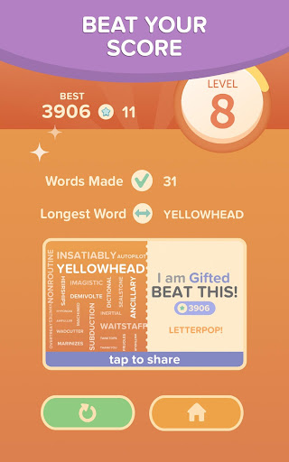 LetterPop - Best of Free Word Search Puzzle Games screenshot 7