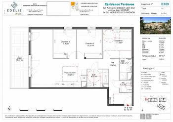 Appartement 4 pièces 83,13 m2
