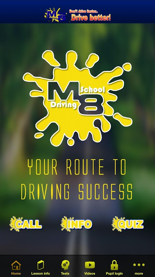 M8 Driving School- screenshot