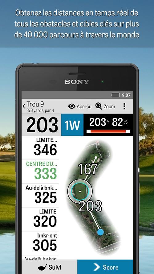 golfshot gps de golf gratuit applications android sur google play. Black Bedroom Furniture Sets. Home Design Ideas