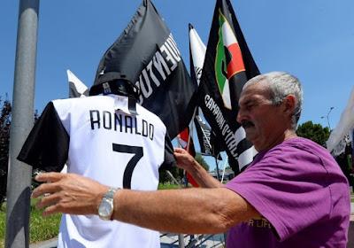 Prachtige geste! Speler van Juventus staat zijn rugnummer 7 af om Cristiano Ronaldo te plezieren