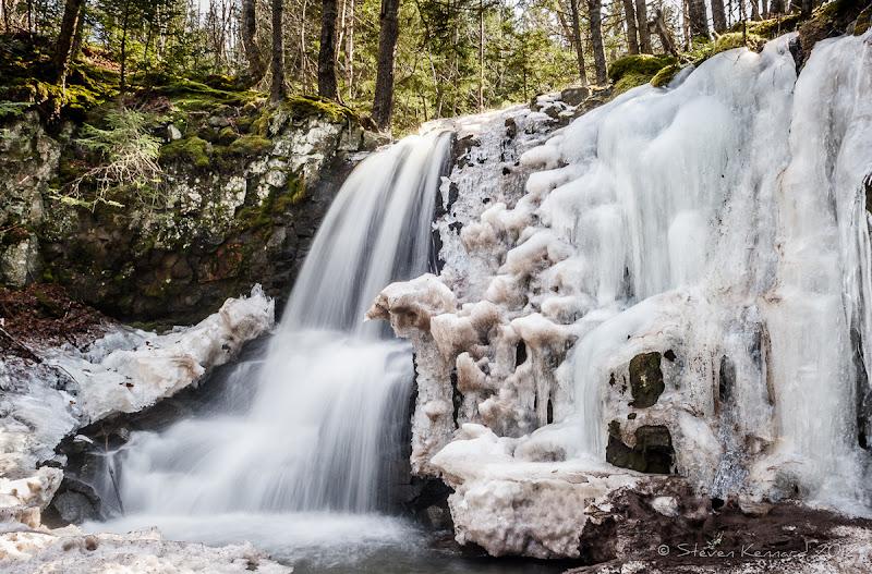 Photo: HIdden Waterfall in the Woods