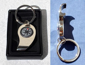 Photo: Compass Bottle Opener Keychain
