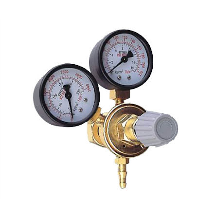 Gasregulator Argon/Co2 DIY