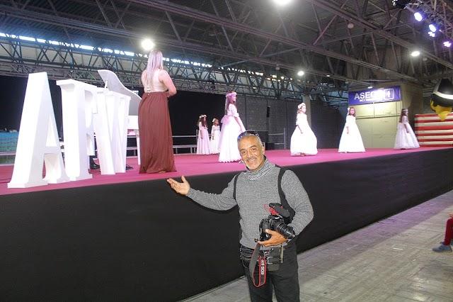 Marcel Arnalot, fundador de Almería Fashion Week y organizador de las pasarelas.